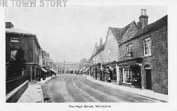 High Street, Wimborne Minster, c. 1920