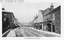 High Street, Wimborne Minster, c. 1920