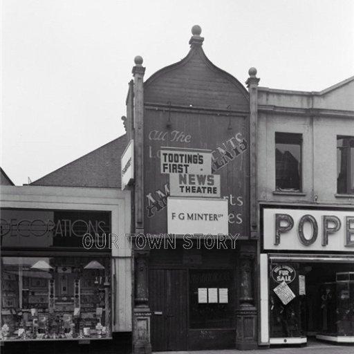 Tooting Cinenews, London, 1930s
