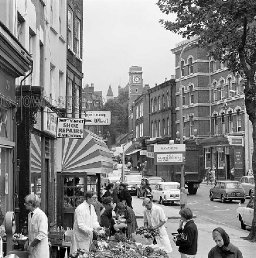 Hampstead High Street, London, late 60s/early 70s