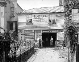 T. Hayhoe's Shoeing Forge, North Road, Highgate, 1911
