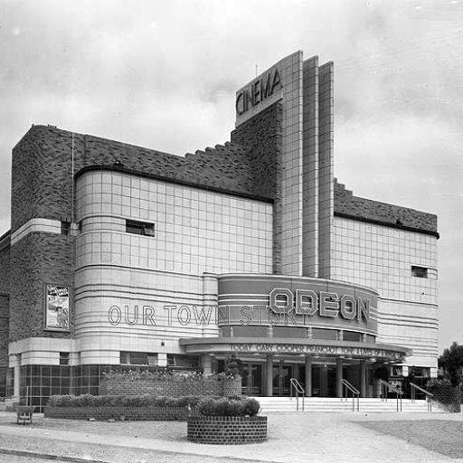 Odeon Cinema, Kettlehouse, Birmingham, 1935 & 2014