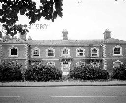 Wimborne Police Station, Poole Road, October 1984