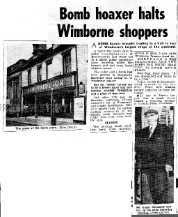 Wimborne Bomb Hoax