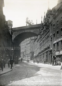 The Side, Newcastle-upon-Tyne, c. 1900s