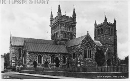 Wimborne Minster, c. 1900s