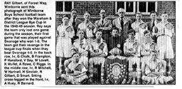 Wimborne Boys' School Football Team, c. 1948