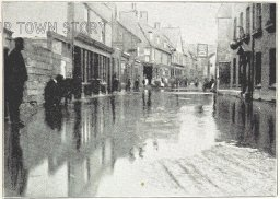 Flooding in North Street, Strood, 1898