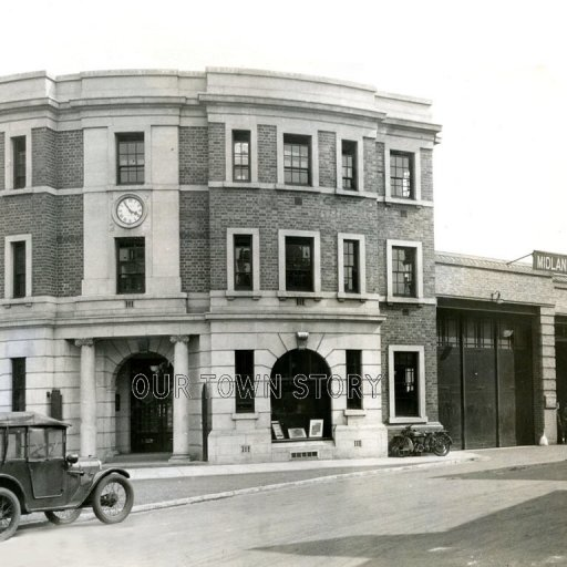 Midland Red Digbeth Garage, c. 1930s