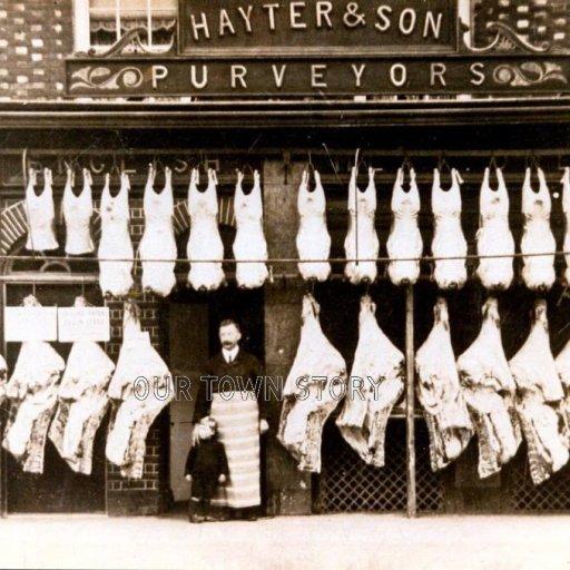 Hayter & Son, Wimborne Minster, c. 1900