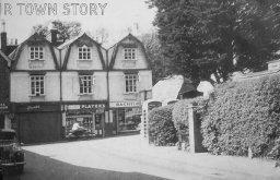 Park Lane, Wimborne Minster, c. 1950s