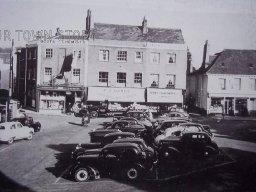 The Square, Wimborne Minster, c. 1940s
