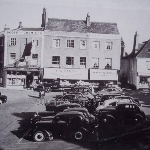 The Square, Wimborne Minster, c. 1940s