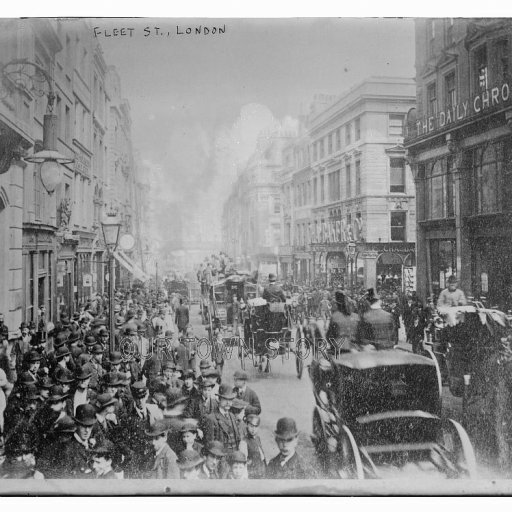 Fleet Street, London, c. 1905