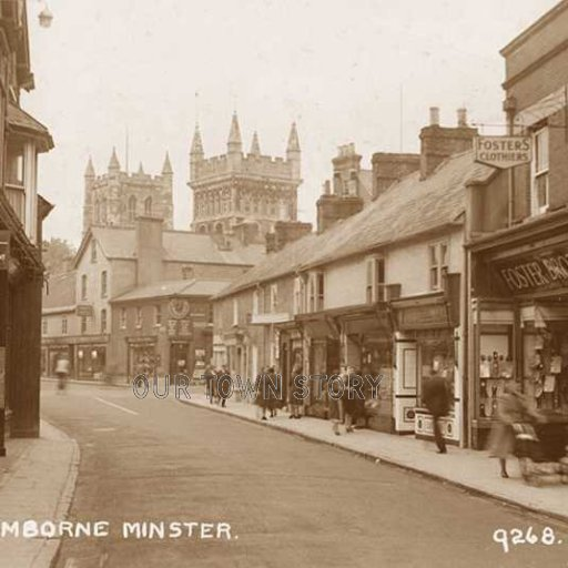 East Street, Wimborne Minster, c. 1920s