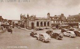 The Square, Wimborne Minster, c. 1930s