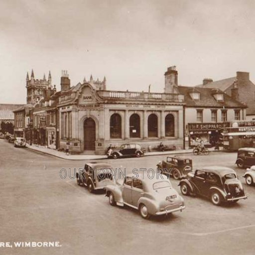 The Square, Wimborne Minster, c. 1930s