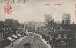 High Street, Wimborne Minster, c. 1890s