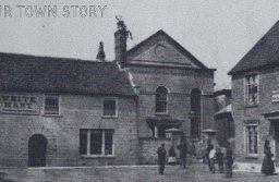 Wimborne Methodist Chapel, Cornmarket, date unknown