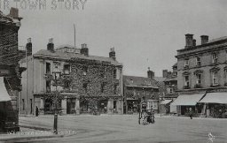 The Square, Wimborne Minster, c. 1900s