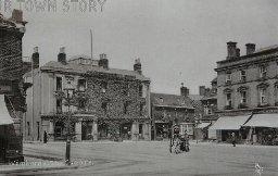 The Square, Wimborne Minster, c. 1900s