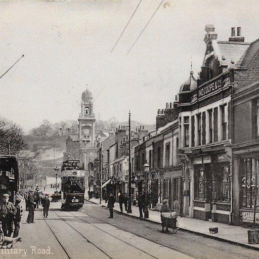 Military Road, Chatham, c. 1904