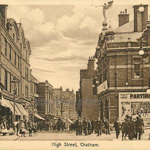 High Street, Chatham, c. 1915