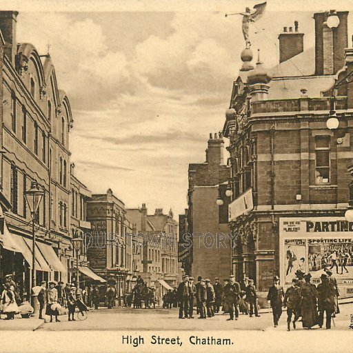 High Street, Chatham, c. 1915