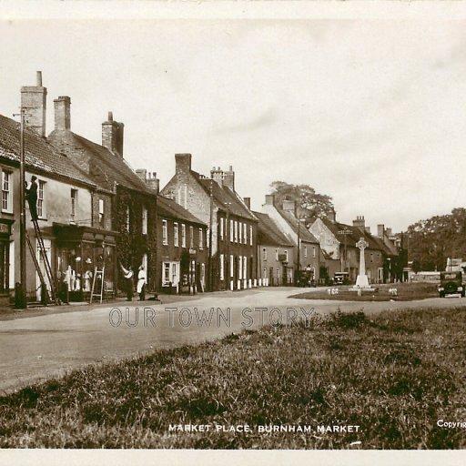 Market Place, Downham Market, c. 1932
