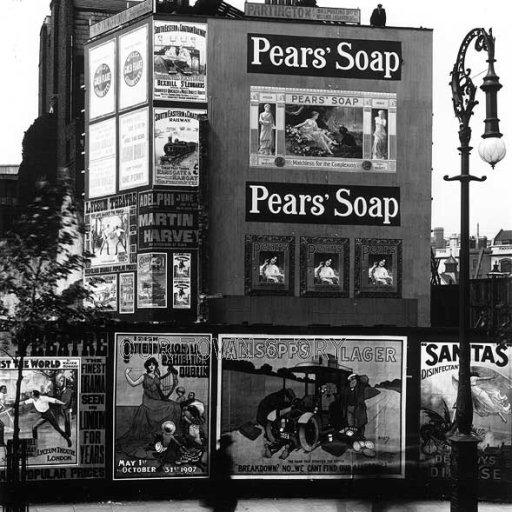 Newcastle Street, London, 1907