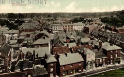 Town Centre from The Minster, Wimborne Minster, c. 1910s