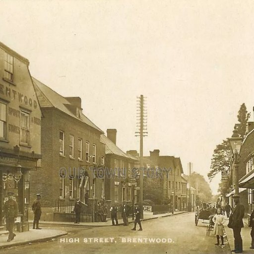 High Street, Brentwood, c. 1910s