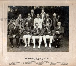 Richmond Town Cricket Club, 1924