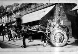 Coakes's Milk Float, Wimborne Minster, c. 1910s