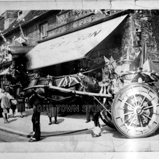 Coakes's Milk Float, Wimborne Minster, c. 1910s