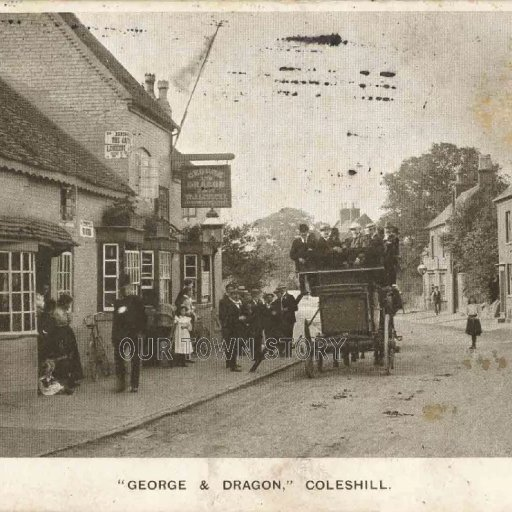 George & Dragon Public House, Coleshill, c. 1906