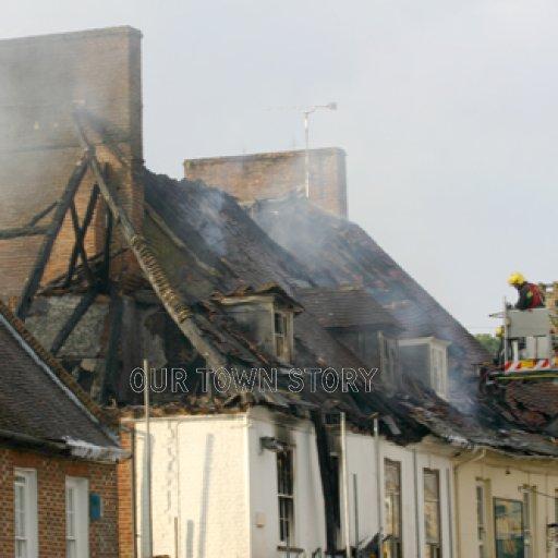 Wimborne Fire 4th July 2009