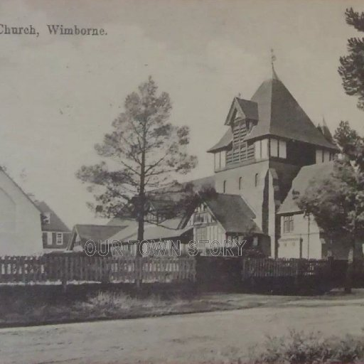 St. Michael's Church and Hall, Colehill, 1910s