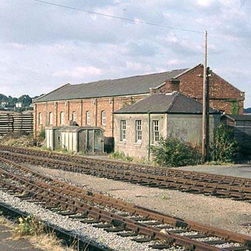 Railway Pictures, Wimborne Minster, 1974