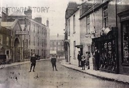 West Street, Wimborne Minster, c. 1890s