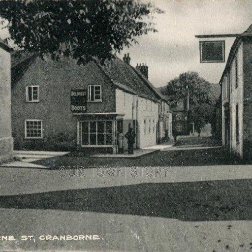 Wimborne Street, Cranborne, c. 1920s