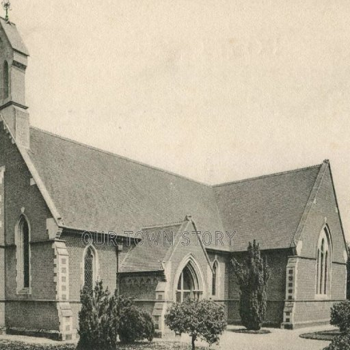 St. John's Church, Wimborne Minster, c. 1920s