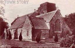 Canford Church, near Wimborne, circa 1910s