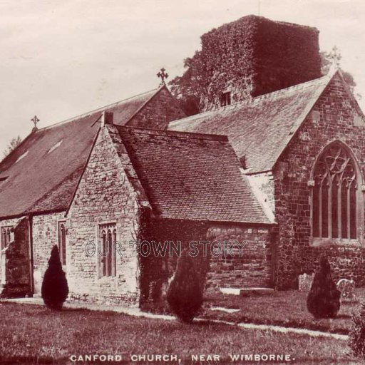Canford Church, near Wimborne, circa 1910s