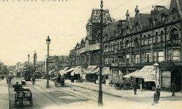 J J Allen's Auxiliary Depository, Holdenhurst Road, Bournemouth, c. 1920