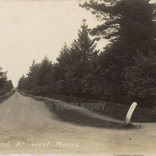 Glenwood Road, West Moors, c. 1918