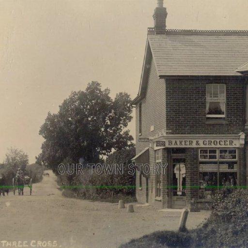 Post Office, Three Legged Cross, c. 1910s