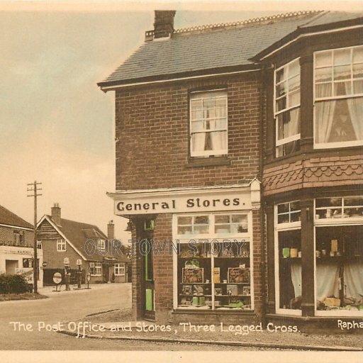Post Office, Three Legged Cross, c. 1910s
