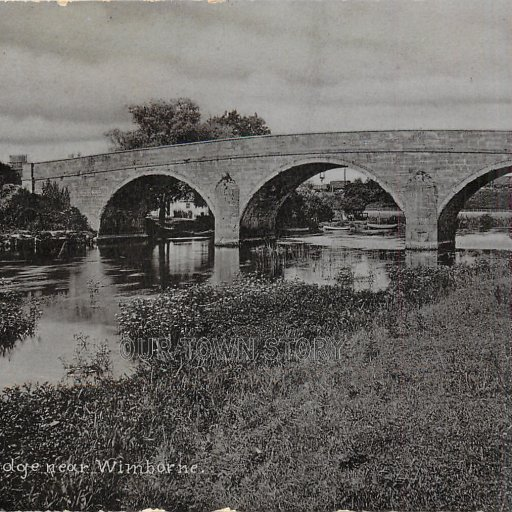 Canford Bridge, Wimborne Minster, c. 1900s