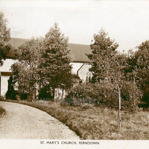 St Mary's Church, Ferndown, c.1930s